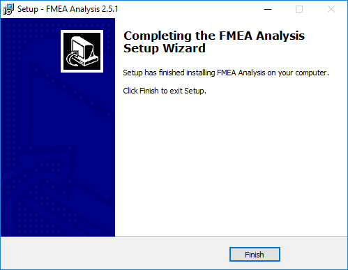 FMEA Analysis Instalation Picture